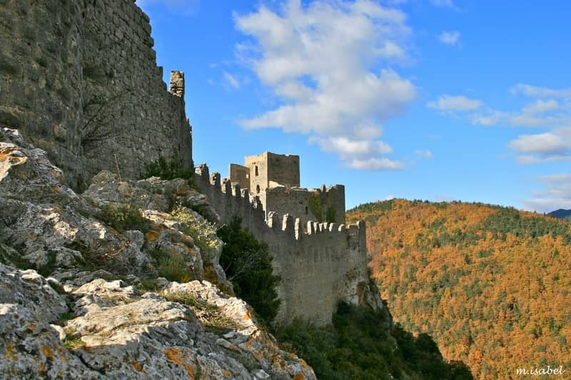 photo 2 cathar castle of puilaurens - character gites with swimming pool and charming bed and breakfasts near Carcassonne