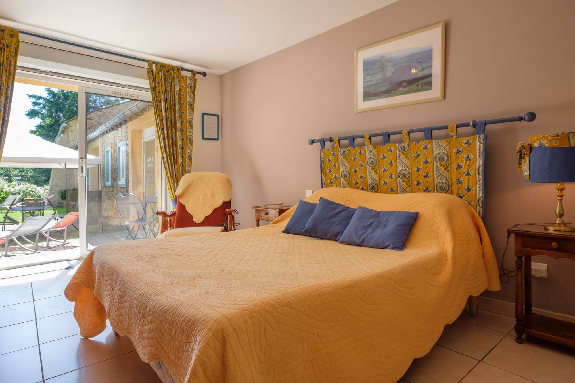 chambre d\'hote pres de carcassonne avec piscine, La Marjolaine
