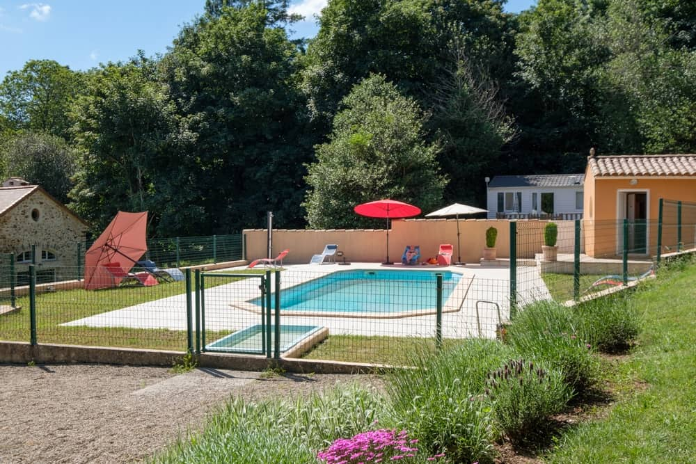 view 4 of the swimming pool - cottages and bed and breakfast near the cité de carcassonne